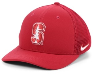 Nike Stanford Cardinal Aerobill Mesh Stretch Fitted Cap