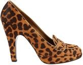 Prada Brown Pony-style calfskin Heels