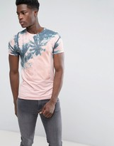 Blend of America Pink and Blue Palm T-Shirt
