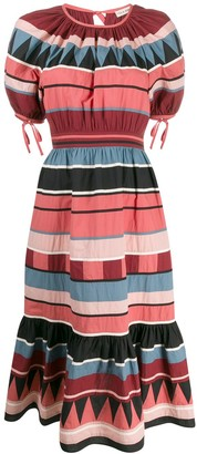 Ulla Johnson Ayta striped dress
