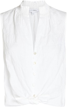 Intermix Leena Sleeveless Cotton Top