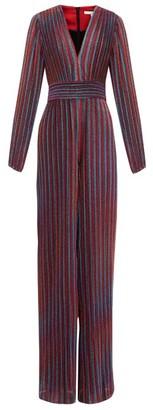 Jonathan Simkhai Striped Lame-knit Wide-leg Jumpsuit - Multi