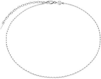 Missoma Silver Box Link Chain Choker