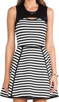 Yigal Azrouel Cut25 by Bold Stripe Techno Dress
