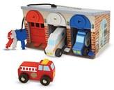 Melissa & Doug Toddler 'Lock & Roll Rescue Garage' Play Set