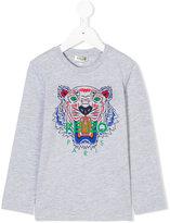 Kenzo Tiger T-shirt - kids - Cotton/Polyester - 4 yrs