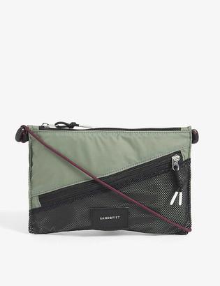 SANDQVIST Dan recycled nylon cross-body bag