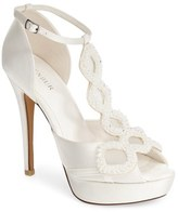 Menbur Women's 'Rita' Satin Platform Sandal