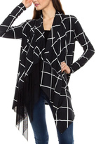 ELM Black/white Cardigan