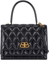 Balenciaga Sharp Medium AJ Quilted Top Handle Bag