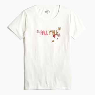 J.Crew Fall y'all graphic tee
