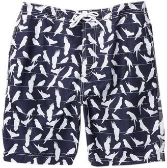 Trunks Surf And Swim Co. Swami Bird Print Swim Shorts