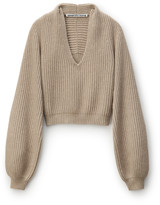 Collection DRAPED NECK PULLOVER