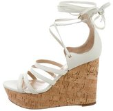 Tamara Mellon Multistrap Cork Wedges