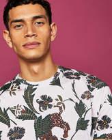 Ted Baker Animal print cotton Tshirt