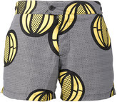 Okun - Patrice melon print swim shorts - men - Polyester - S