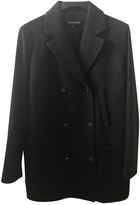 Vanessa Seward Navy Wool Coat for Women