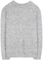 Acne Studios Dramatic Mohair And Wool-blend Sweater