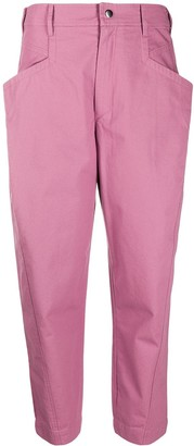 Isabel Marant Cropped Tapered Trousers