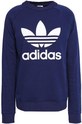 adidas Printed French Cotton-terry Sweatshirt
