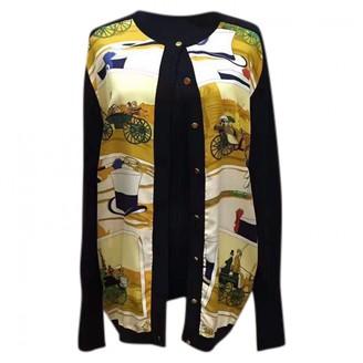 Hermes Black Silk Knitwear for Women Vintage