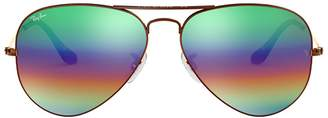 Ray-Ban Aviator Mineral Flash Lenses Sunglasses