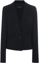 Derek Lam Pebble Crepe Jacket