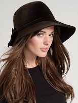 Aden Asymmetric Wide-Brim Hat