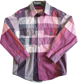 Burberry Purple Polyester Tops