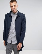 Lindbergh Unlined Trenchcoat Slim Fit in Navy