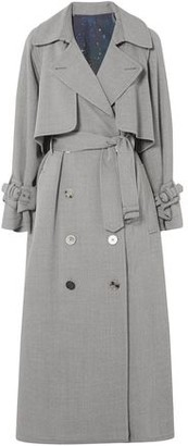 Golden Goose Vela Wool-drill Trench Coat