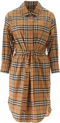 Burberry Isotto Tartan Dress