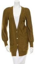 Chloé Alpaca Button-Front Cardigan