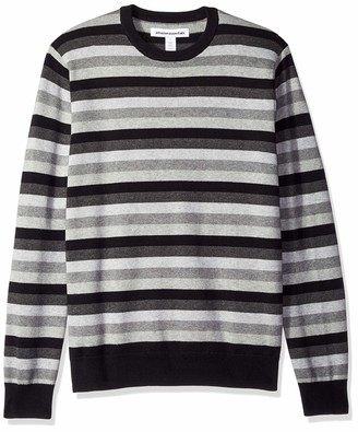 Amazon Essentials Men's Crewneck Stripe Sweater