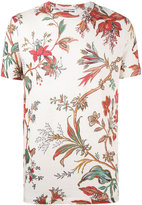 McQ by Alexander McQueen floral embroidered T-shirt - men - Cotton - S