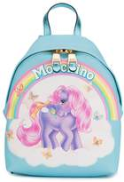 Moschino Blue My Little Pony backpack