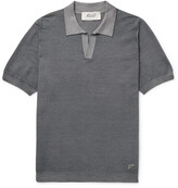 Thumbnail for your product : Valstar Wool And Silk-Blend Polo Shirt