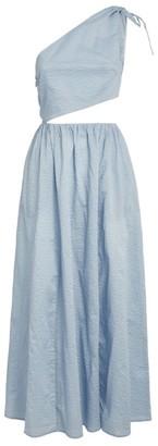 Marysia Swim One-Shoudler Cut-Out Midi Dress