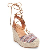 dv Women's dv Carissa Closed Toe Espadrille Wedge Sandals