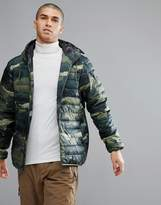 Quiksilver Quilted Everyday Scaly Jacket in Camo