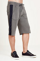 True Religion Mesh Inset Mens Shorts