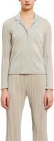 Callipygian Lurex Crinkle Shirt