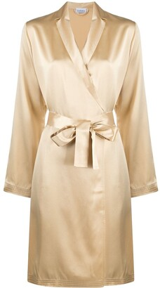 La Perla Wrap-Around Silk Robe