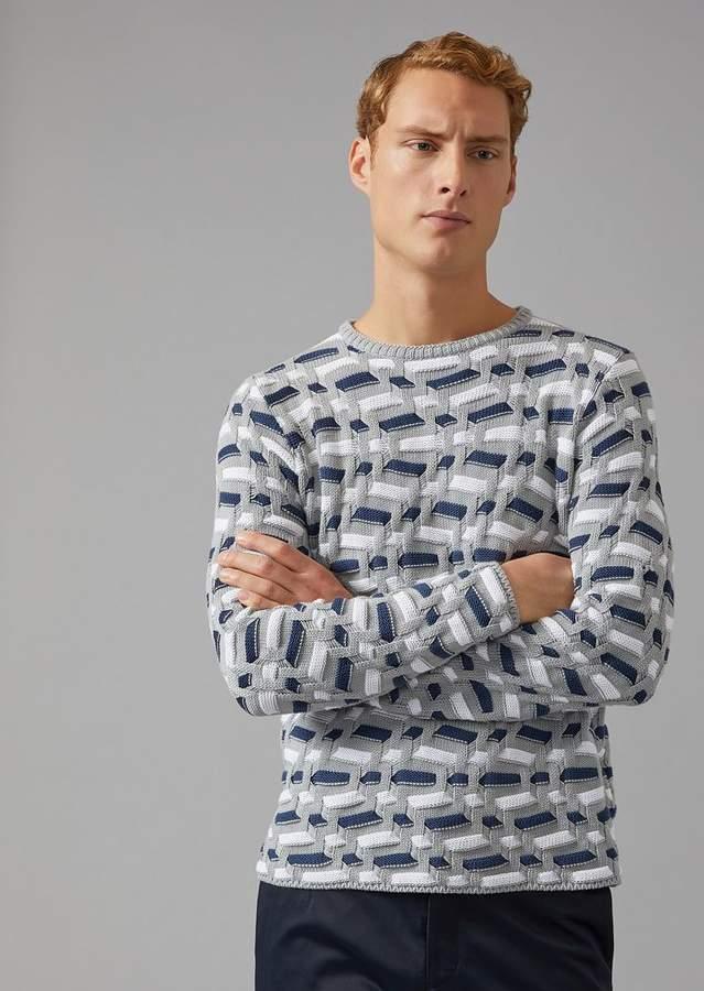 Giorgio Armani Cotton And Cashmere Sweater