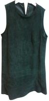 Balenciaga Green Leather Dress