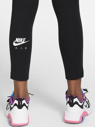 Nike Sportswear Air Older Girls Leggings - Black