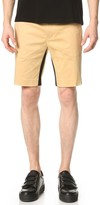 Opening Ceremony Mesh Tape Inseam Slim Fit Shorts