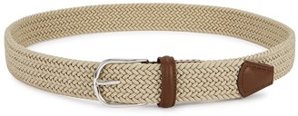 Andersons Stone Woven Canvas Belt