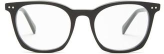 Celine Round Acetate Glasses - Black