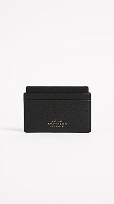 Smythson Panama Flat Card Holder